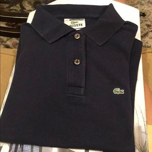 NAVY LACOSTE GIRLS POLO 36